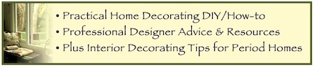 Home Decorating Info DIY Resources Banner