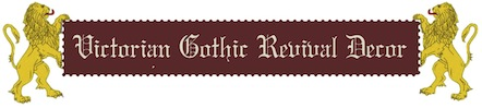 Victorian Gothic Home Decor Banner