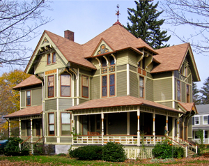 queen anne victorian house picture